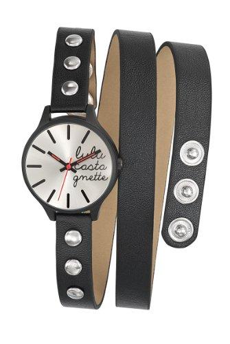 Lulu Castagnette Damen Armbanduhr Analog Quarz Leder 38739