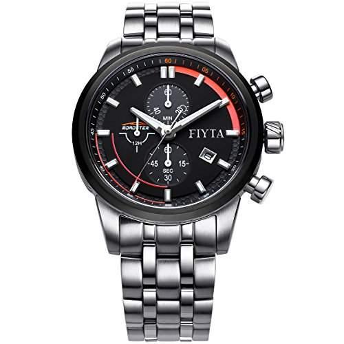 FIYTA Herren Chronograph Quarz Uhr - Roadster