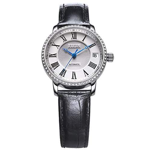 FIYTA Damen Zirkonia Quarz Uhr - Classic