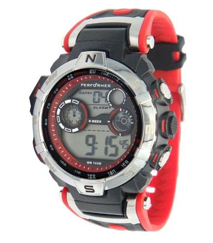 Performer Herren Armbanduhr XL Digital Plastik 70611812
