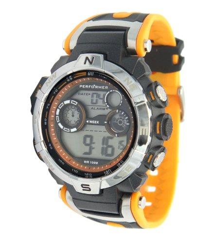 Performer Herren Armbanduhr XL Digital Plastik 70611842