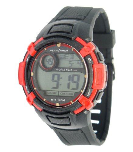 Performer Herren Armbanduhr XL Digital Plastik 70611932