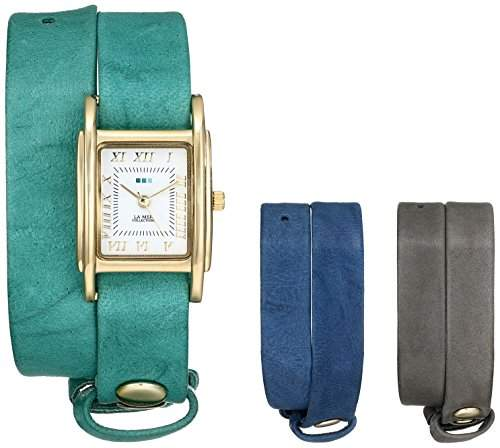 La Mer Collections Damen LMGB1000 Gift Box Collection Grey Teal Royal Armbanduhr