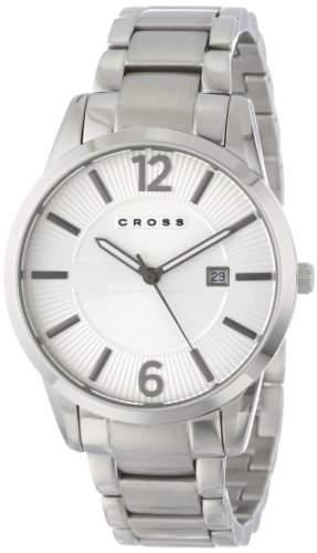 Cross Herren-Armbanduhr Gotham Analog Quarz Edelstahl CR8002-22