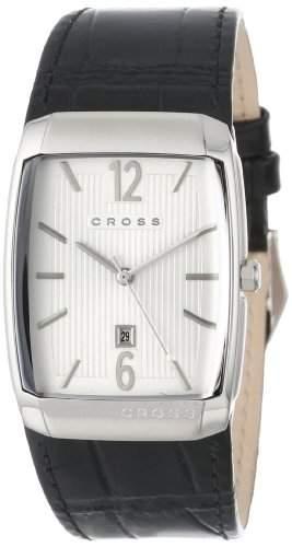 Cross Herren-Armbanduhr Arial Analog Quarz Leder CR8005-02