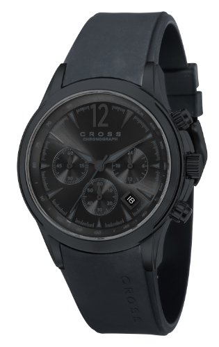 Cross Herren Armbanduhr Agency Chronograph Quarz Silikon CR8011 05