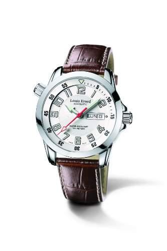 Louis Erard Herren-Uhren Automatik Analog 72411AA01BDC15