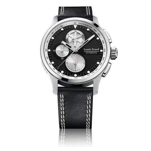 Louis Erard Herren 44mm Chronograph Automatikwerk Saphirglas Uhr 78229AS12BDC88