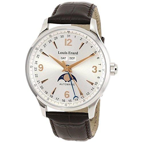 Louis Erard Herren Armbanduhr 1931 Automatik 31218AA11 BDC21