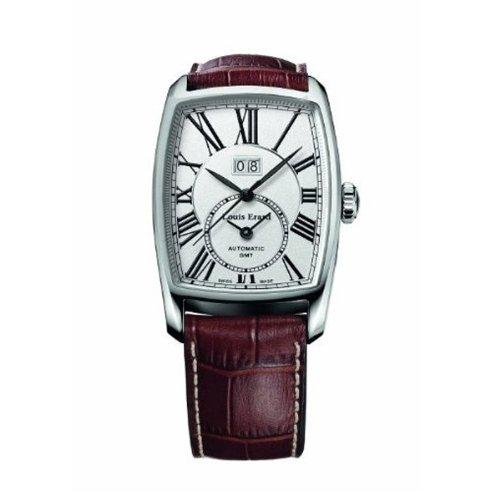 Louis Erard 1931 Armband Leder Braun Gehaeuse Edelstahl Automatik Analog 94210AA21 BDC52