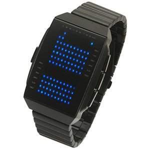 LED Uhr - Herren - L130-022BL-BSM