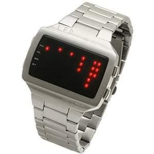 LED Uhr - Herren - L69-061RD-BSM