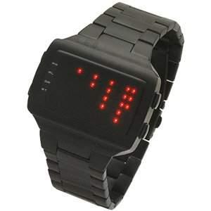 LED Uhr - Herren - L69-062RD-BSM