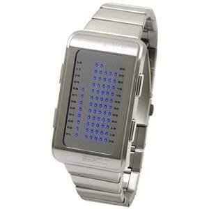 LED Uhr - Herren - L84-011BL-MSM