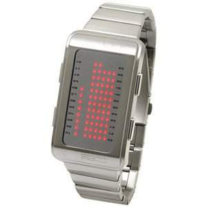 LED Uhr - Herren - L84-011RD-MSM