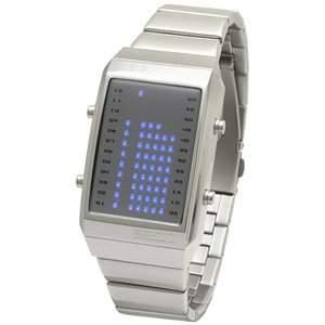 LED Uhr - Herren - L84-021BL-MSM