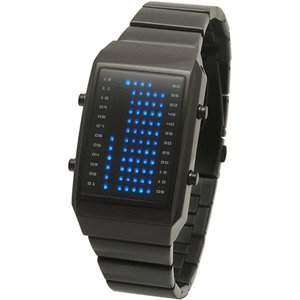 LED Uhr - Herren - L84-022BL-BSM