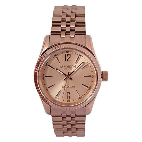 Madison New York Glamor Damen Armbanduhr Angie L4791E2
