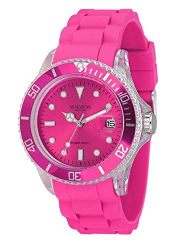 MADISON NEW YORK Unisex Uhr Candy Time® Beach Pink