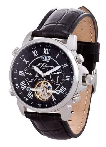 MJohansson Herren Automatik Armband Uhr AulisLSB