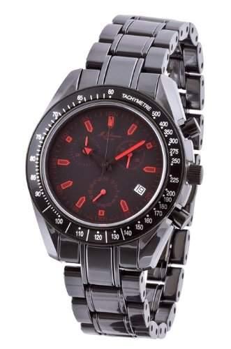 MJohansson Herren Keramik Chronograph Armband Uhr NaxosB