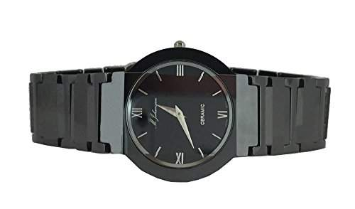 MJohansson Unisex Keramik Quarz Armband Uhr AvensaB-round