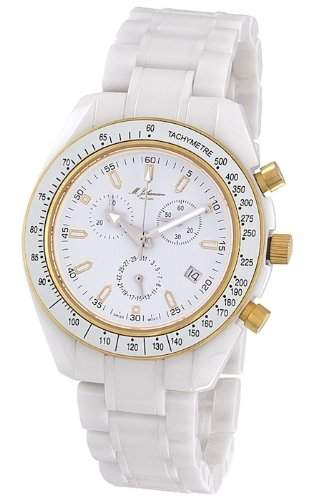 MJohansson Herren Keramik Chronograph Armband Uhr NaxosWG