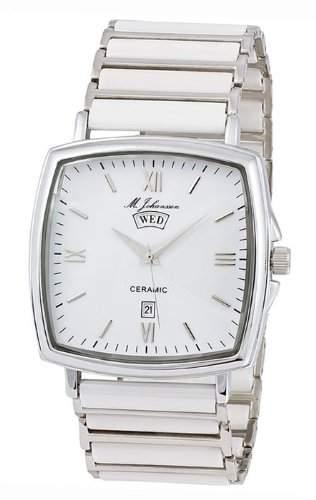 MJohansson Herren Keramik Quarz Armband Uhr TitanusW