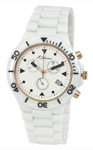MJohansson Herren Keramik Chronograph Armband Uhr MakanaWRg