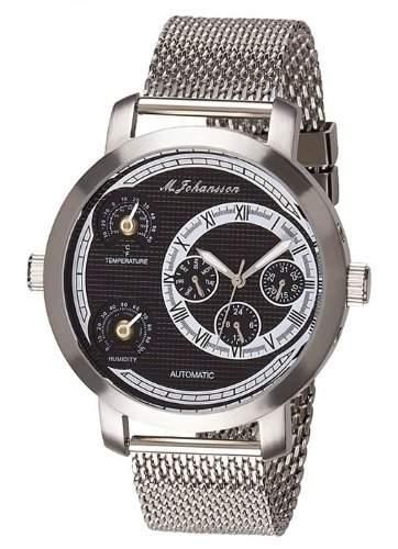 MJohansson Herren Automatik Armband Uhr VicusSSBm +