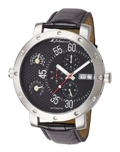 MJohansson Herren Armband Uhr XXL 52 mm ArisLSB