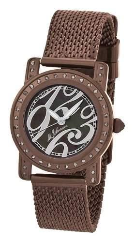 MJohansson Braun Damen Quarz Armband Uhr EmiliaBrBrBr