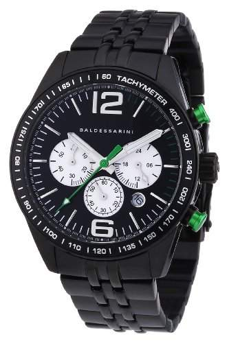 Baldessarini Herren-Armbanduhr XL BOS Chronograph Quarz Edelstahl Y8053W2000