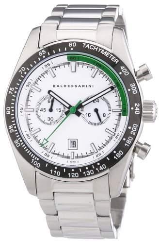 Baldessarini Herren-Armbanduhr XL SYD Chronograph Quarz Edelstahl Y8073W2000