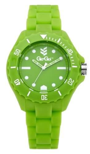 Gio-Goi Unisex-Armbanduhr Headfunk Analog gruen GG1004GN