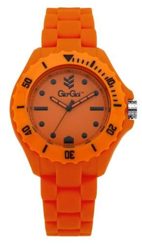 Gio-Goi Unisex-Armbanduhr Headfunk Analog orange GG1004O
