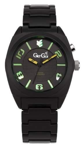 Gio-Goi Herren-Armbanduhr Disco Analog schwarz GG1014B
