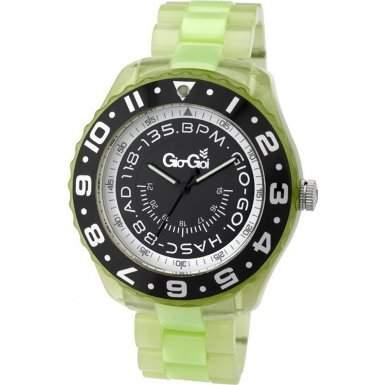 Gio Goi Herren-Armbanduhr Analog plastik gruen GG1023UV