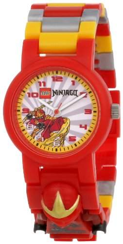LEGO Kids Ninjago Kai ZX Minifigure Link Watch