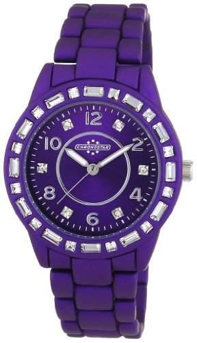 Chronostar Watches Damen-Armbanduhr POP Analog Quarz Edelstahl R3753117501