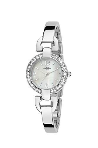 Chronostar Watches Damen-Armbanduhr VENERE Analog Quarz Edelstahl R3753156501