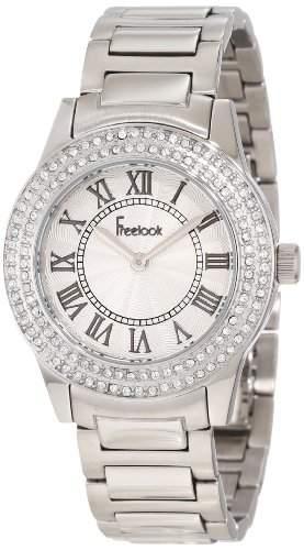 Freelook HA5338 Edelstahl Silber Damen Armbanduhr