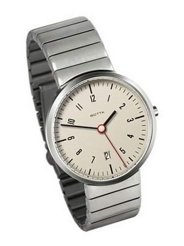 Botta Herren-Uhren Quarz Analog 244011