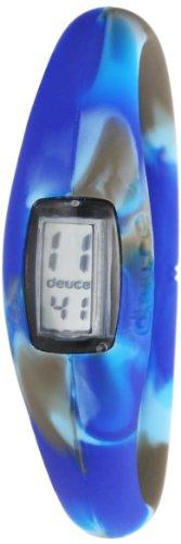 Deuce DBG2CBUM Unisex Blau Gummiband Grey Dial Smart Uhr