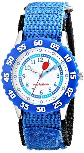 Disney by Ewatchfactory Unisex-Armbanduhr Time Teacher Lernuhr Nylon blau W000181