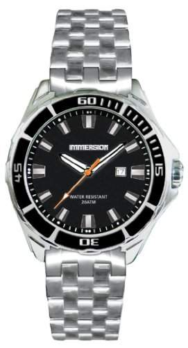 Immersion Herren-Armbanduhr Analog Edelstahl grau IM6868