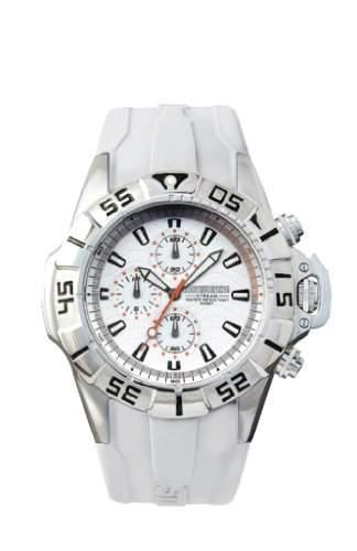Immersion Unisex-Armbanduhr Analog Plastik weiss IM6954