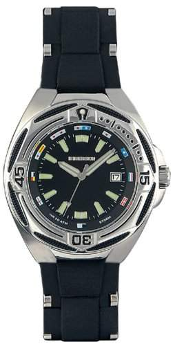 Immersion Herren-Armbanduhr Analog Plastik schwarz IM6965