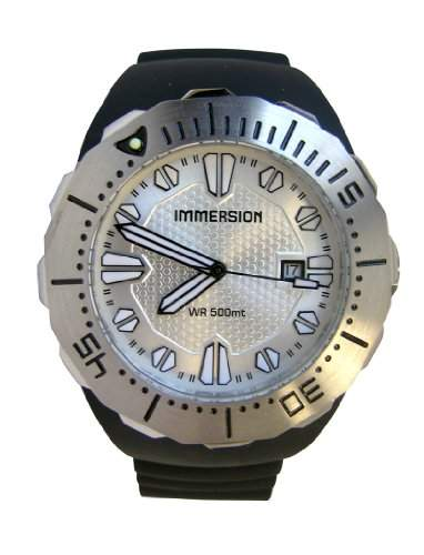 Immersion Herren-Armbanduhr Analog Plastik schwarz IM6993