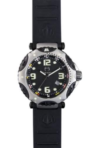 Immersion Herren-Armbanduhr Analog Silikon schwarz IM7201